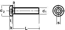 ISO 7380 — u0440u0430u0437u043cu0435u0440u044b, u0445u0430u0440u0430u043au0442u0435u0440u0438u0441u0442u0438u043au0438.