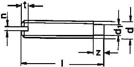 ISO 7435 — размеры, характеристики.