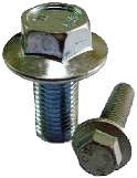 ISO — винт с шестигранной головкой и фланцем.