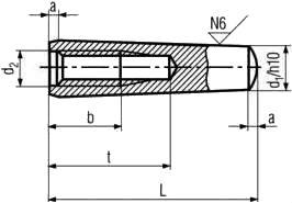 ISO 8736 — характеристики, размеры.