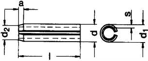 ISO 8752 — размеры, характеристики.