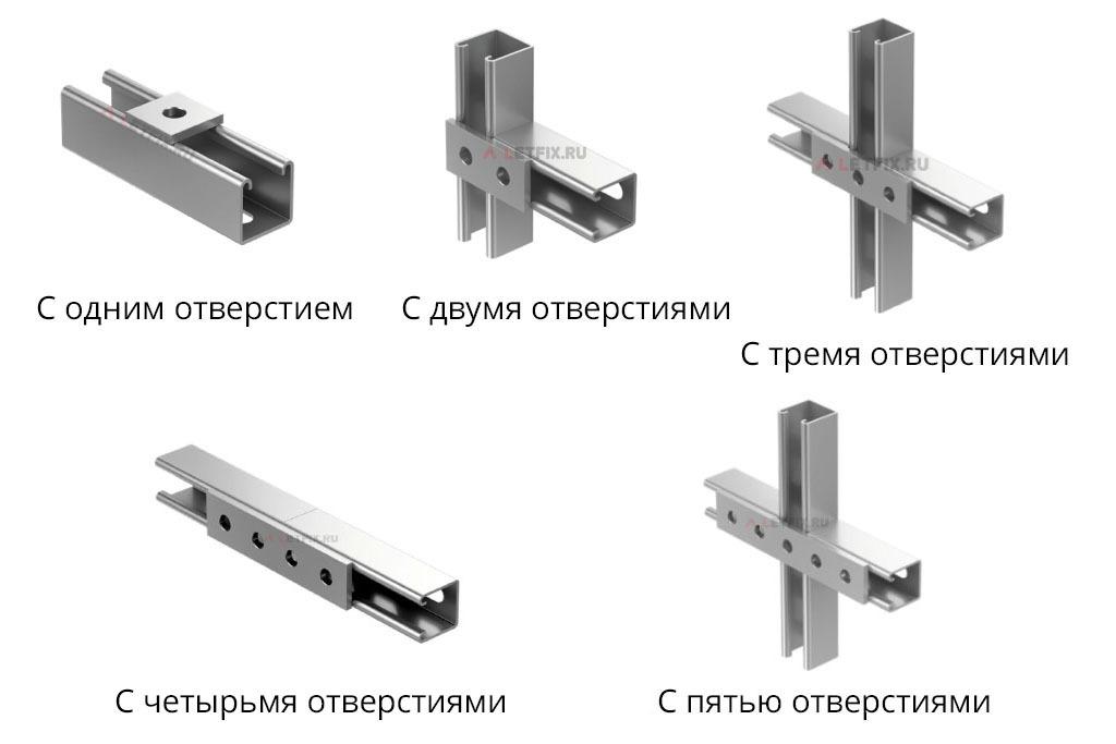 Пластины соединительные для STRUT профиля