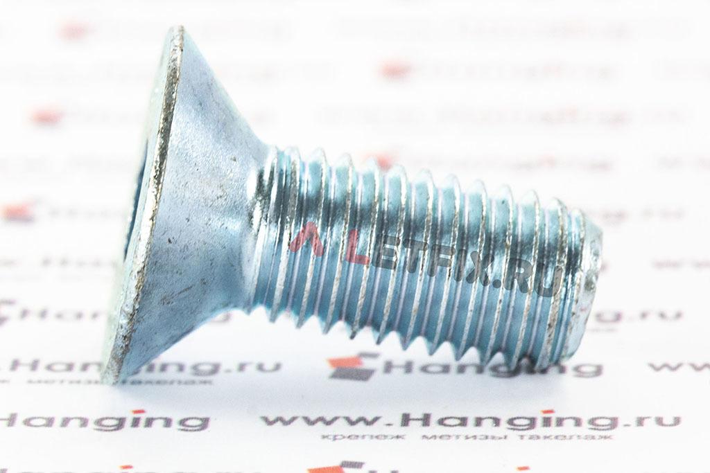 Винт ГОСТ Р ИСО 10642-2012 (ISO 10642) 10.9 цинк (zn)