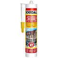 Белый силиконовый герметик 280 мл Soudal Универсальный силикон (105907)