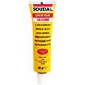 Белый силиконовый герметик 60 гр Soudal Универсальный силикон (120031)