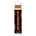 Огнестойкий белый силиконовый герметик 310 мл Soudal Fire Silicone B1 FR (108998)