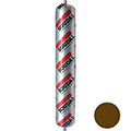 Профессиональный силиконовый коричневый герметик под дерево Soudal Silirub 2 нейтральный силикон (100254) 600 мл