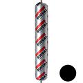 Профессиональный силиконовый герметик для остекления Soudal Silirub AC чёрный 600 мл (102400)