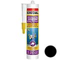 Soudal Силикон для аквариумов чёрный 280 мл (126931)