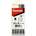 Набор из пяти буров SDS-plus длиной 110 и 160 мм Makita D-17784 (6х110, 6,5х110, 8х160, 10х160 и 12х160)
