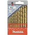 Набор сверл по металлу Makita D-43577 (13 штук) 1,5-6,5 мм