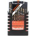 Набор кобальтовых сверл по металлу Makita D-50463 (19 штук) 1-10 мм