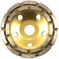 Чашка алмазная 125х22 сегментная двухрядная