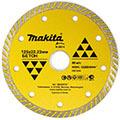 Алмазный диск Турбо Makita B-28014 125х22,23 по бетону (сплошной рифленый)