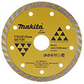 Алмазный диск Турбо Makita B-28008 115х22,23 по бетону (сплошной рифленый)