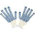 Хлопчатобумажные перчатки (3 нити) с ПВХ