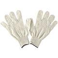 Перчатки хлопчатобумажные белые, 4 нити, без ПВХ