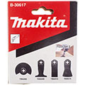 Набор насадок для мультитула Makita B-30617 (набор №2 для работы с половым покрытием)