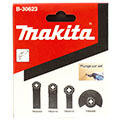 Набор насадок для мультитула Makita B-30623 (набор для монтажных работ)
