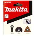 Набор насадок для мультитула Makita B-30586 (набор №1 для работы с облицовочной плиткой)