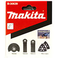 Набор насадок для мультитула Makita B-30601 (набор №1 для работы с половым покрытием)